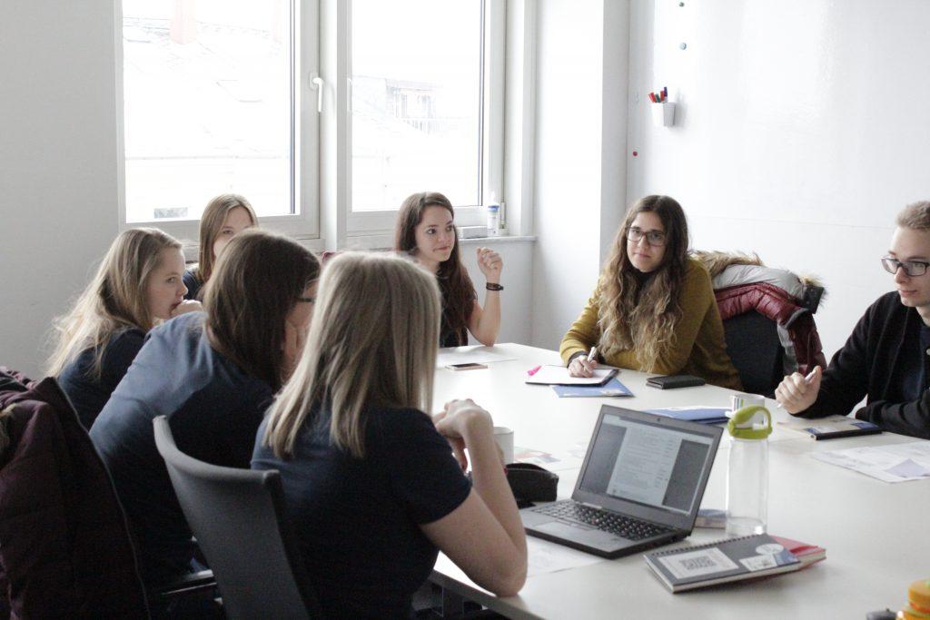 Teamtreffen Social Web macht Schule