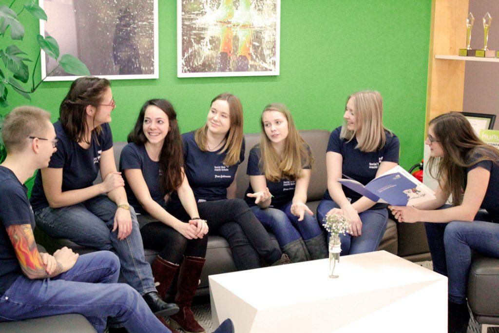 Teamdiskussion Social Web macht Schule