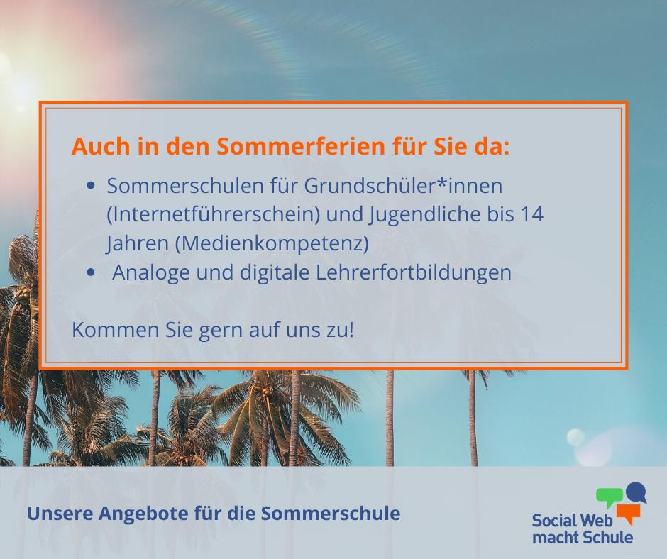 Sommerschule in Sachsen. Wir haben verschiedene Angebote. Kontaktieren Sie uns gern per E-Mail.